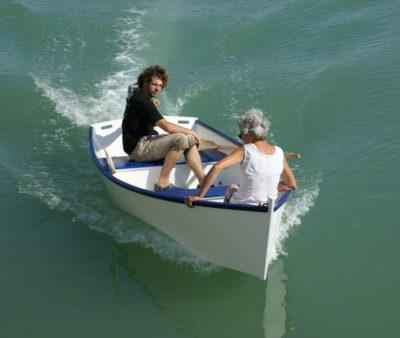 Sorine, motor skiff