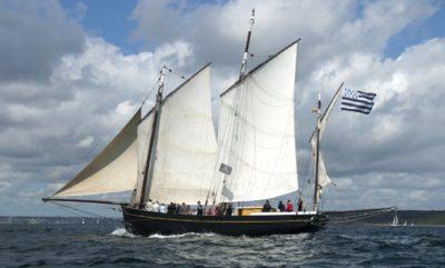 Corentin, chasse-marée de Quimper