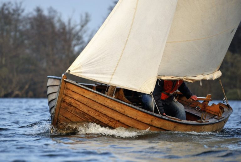 Swedish clinker dinghy for sale