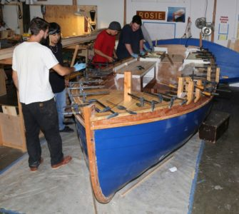 Small boats monthly, a web based magazine on wooden boats