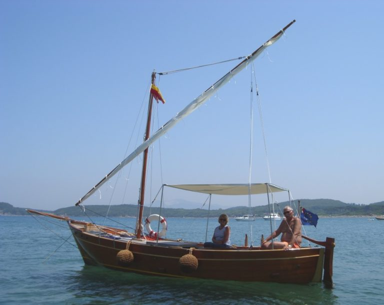 7 m latin sailer for sale in Italy