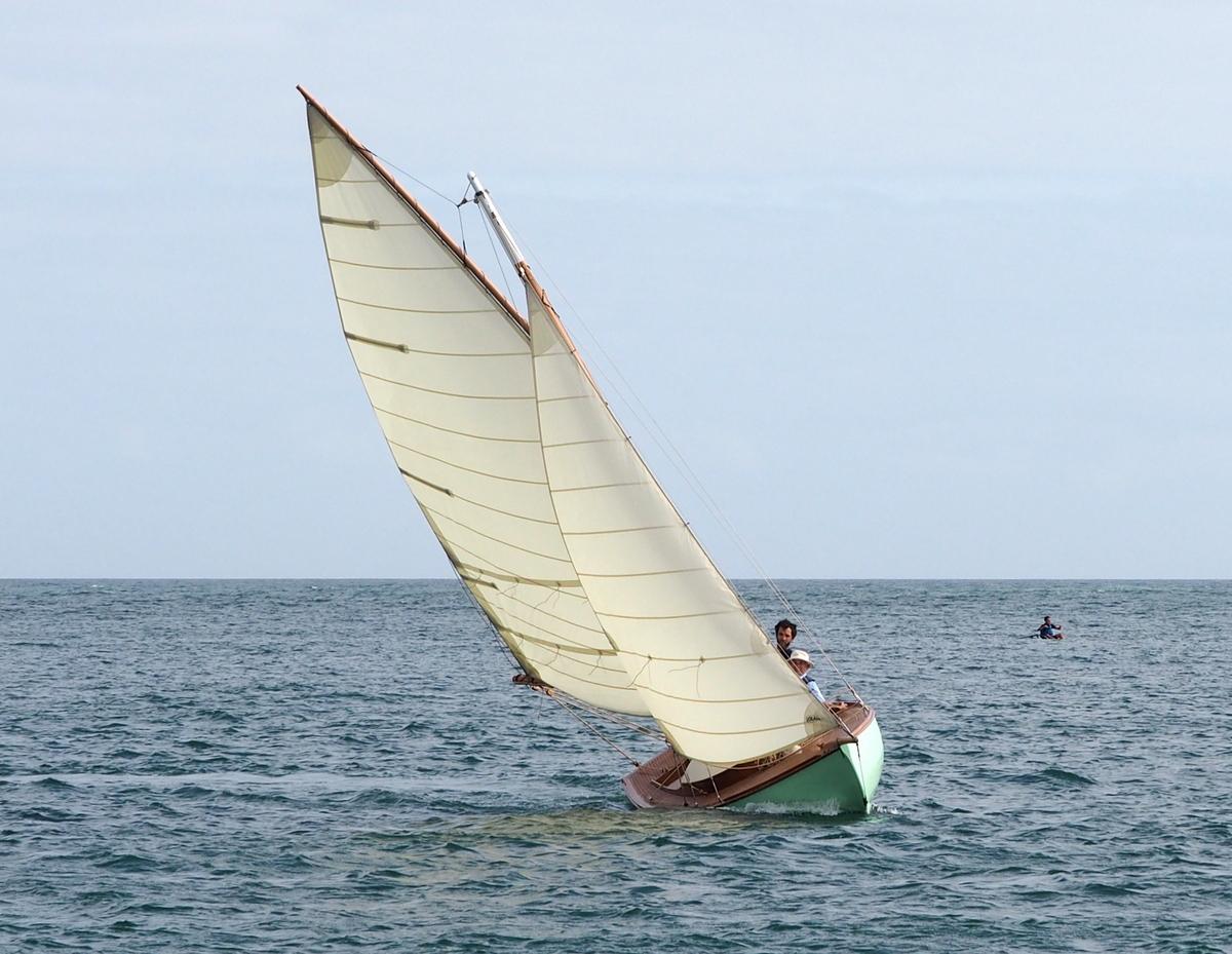 As de Pique : un bateau d'exception construit par Skol ar Mor