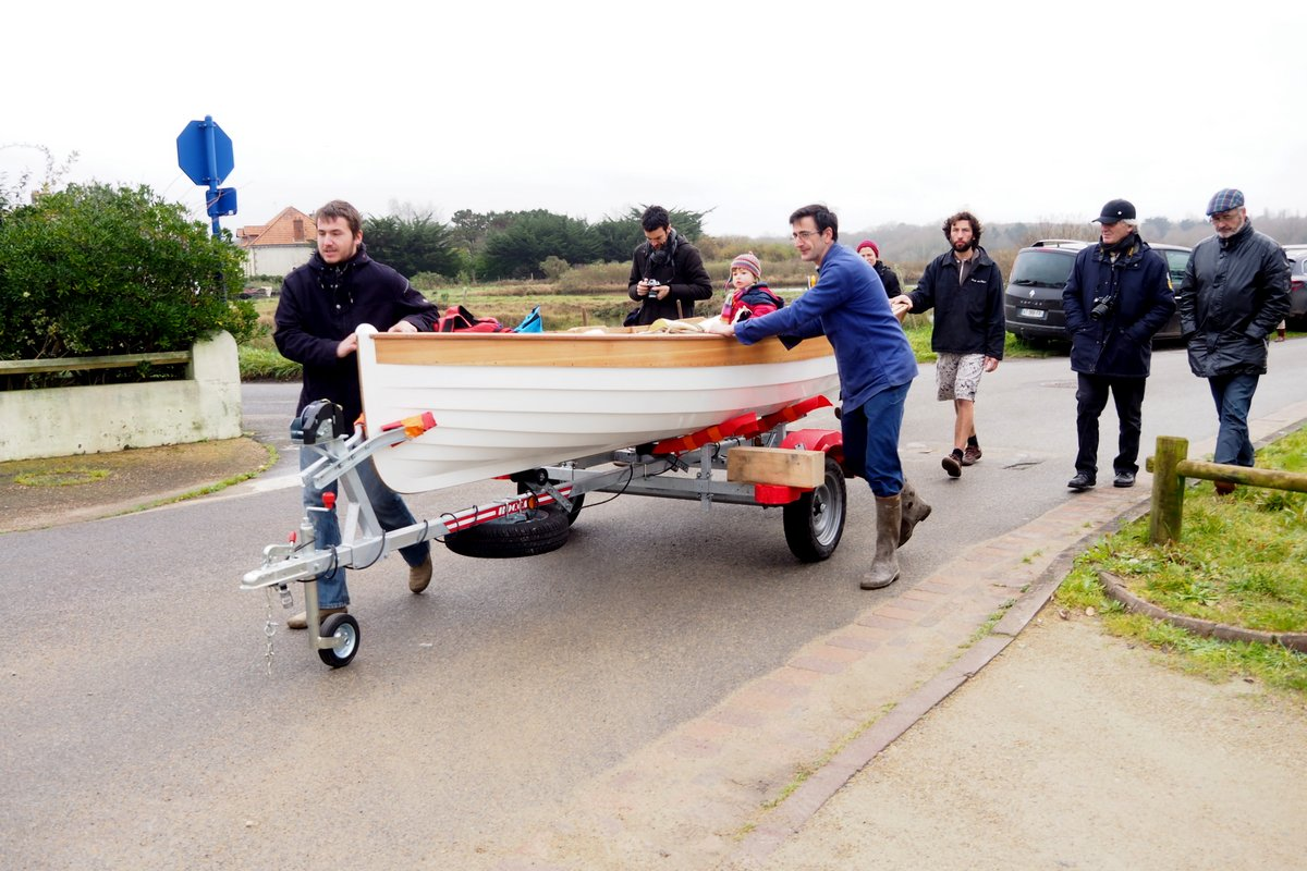 Lancement des bateaux Skol ar Mor, janvier 2016 | François Vivier, naval architect