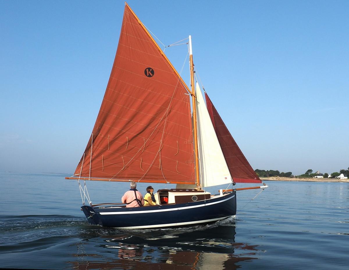 You are currently viewing Koalen 18, un nouveau plan de petit voilier à cabine