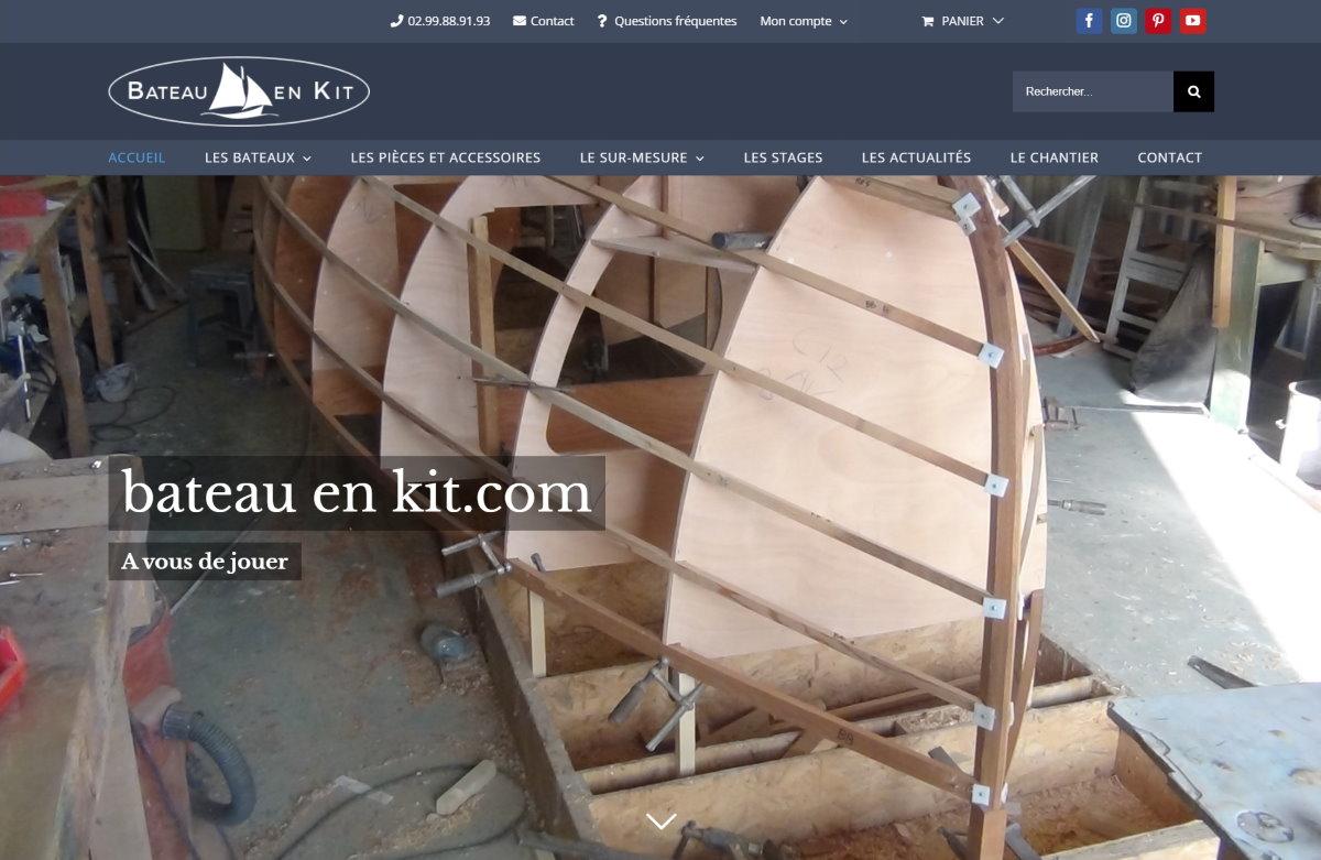 Bateau en kit, un nouveau site par Grand-Largue