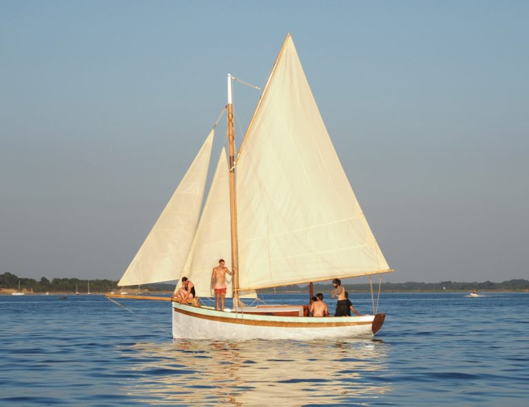 A new traditional 23′ cutter for sale