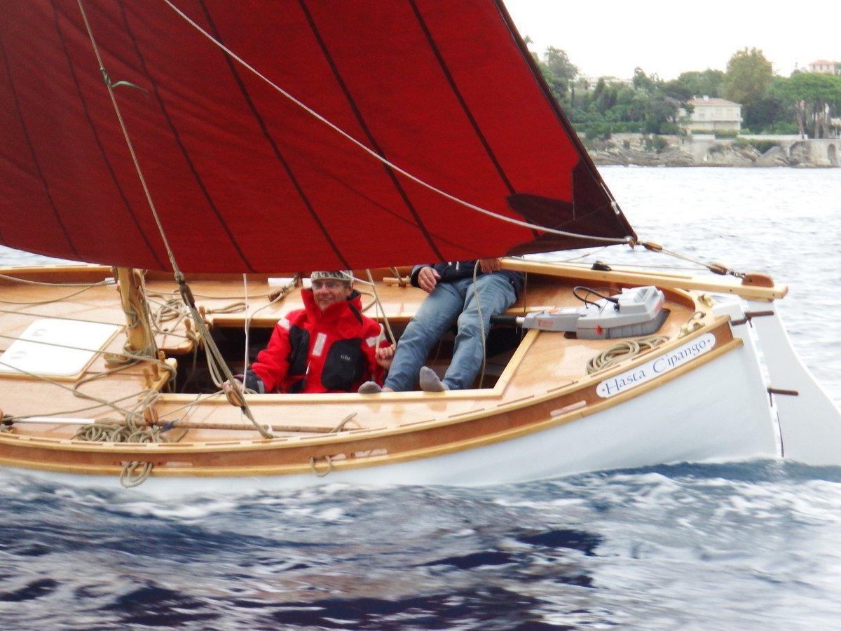 Gabian: a lateen rigged boat