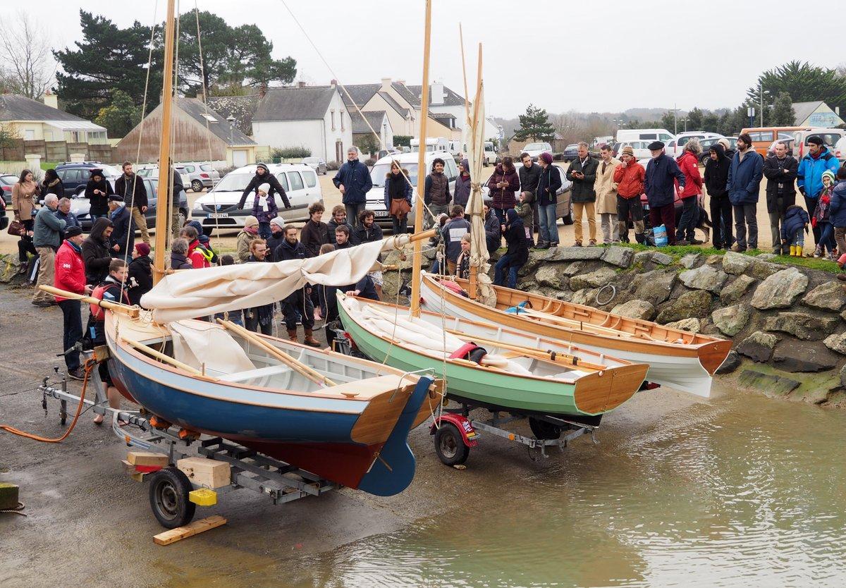 Lancement des bateaux Skol ar Mor, janvier 2016