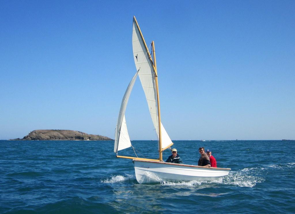 Bounty, voilier en polyester de 4.75 m